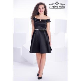 Разкроена официална рокля Сара 72232