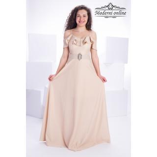Разкроена дълга рокля Бюти Филинг 72953