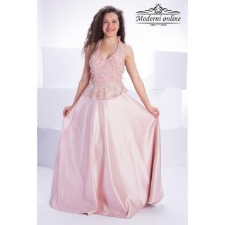 Разкроена официална рокля Бренди 715227