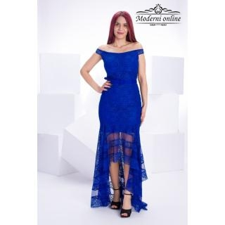Асиметрична дълга рокля Бери 9620991