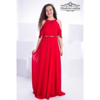 Разкроена дълга рокля Наталия