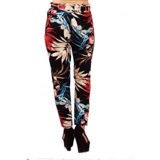 Модерен дамски панталон шарен