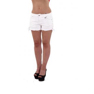 Къси бели панталонки