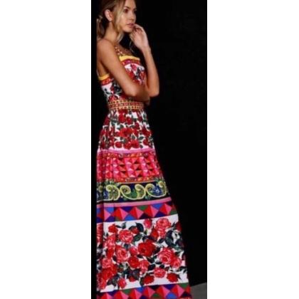 Дълга рокля Рози
