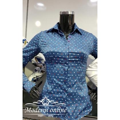 Риза на малки сърчица 9436