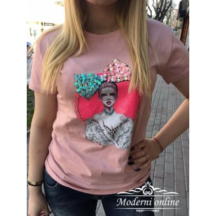 Тениска Панделка 7084