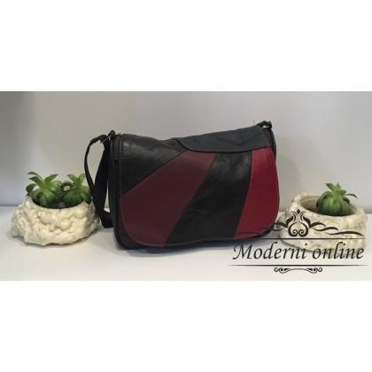 Кожена дамска чанта 3045